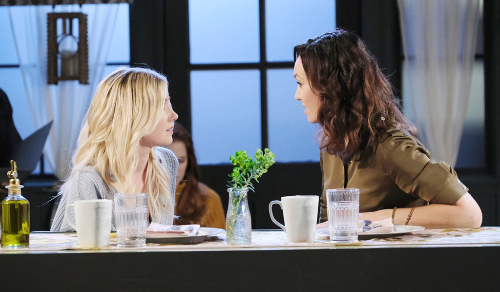 Claire friendly with gwen about break up days