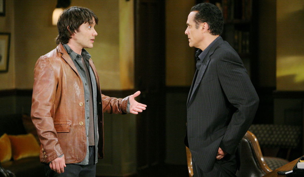 Dante Falconeri and Sonny Corinthos on General Hospital