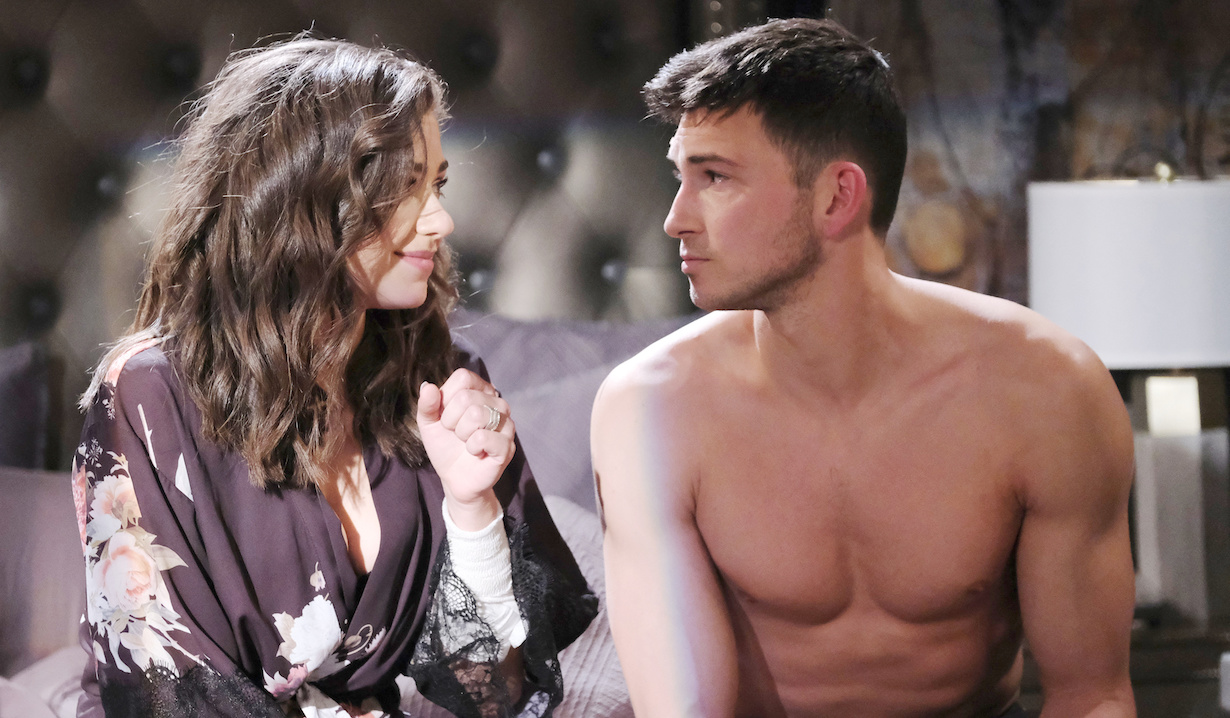days of our lives Robert Scott Wilson and Victoria Konefal as Ben and Ciara