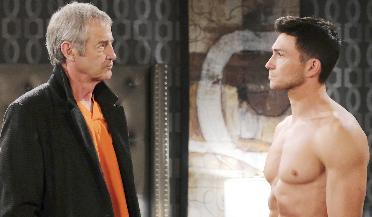 days of our lives james read and robert scott wilson as clyde and ben