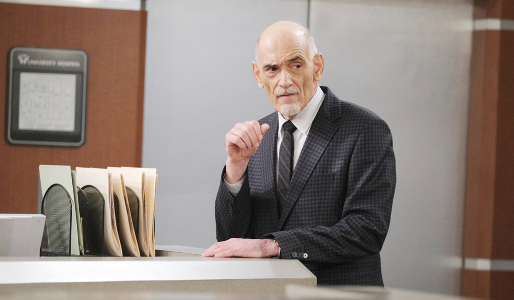 Will Utay as Dr. Rolfe on Days of our Lives