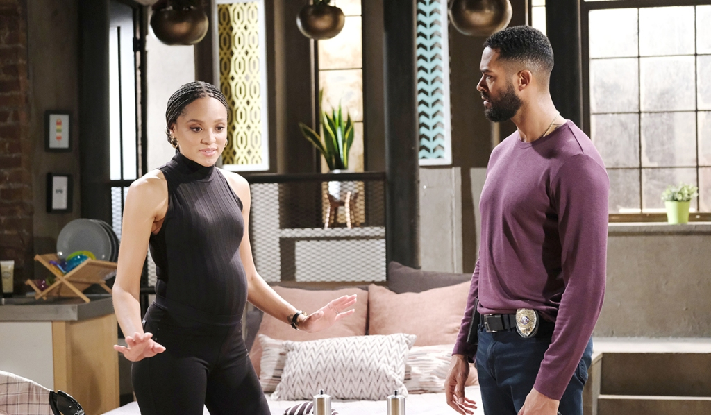 Eli gives Lani upsetting news days of our lives