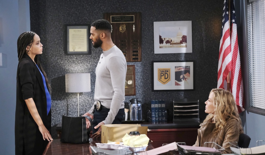 Eli appeals to Lani in front of Kristen on Days of our Lives
