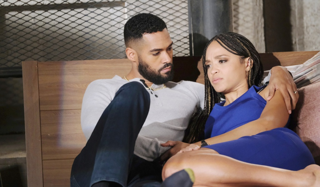 Eli and Lani make up on Days of our Lives