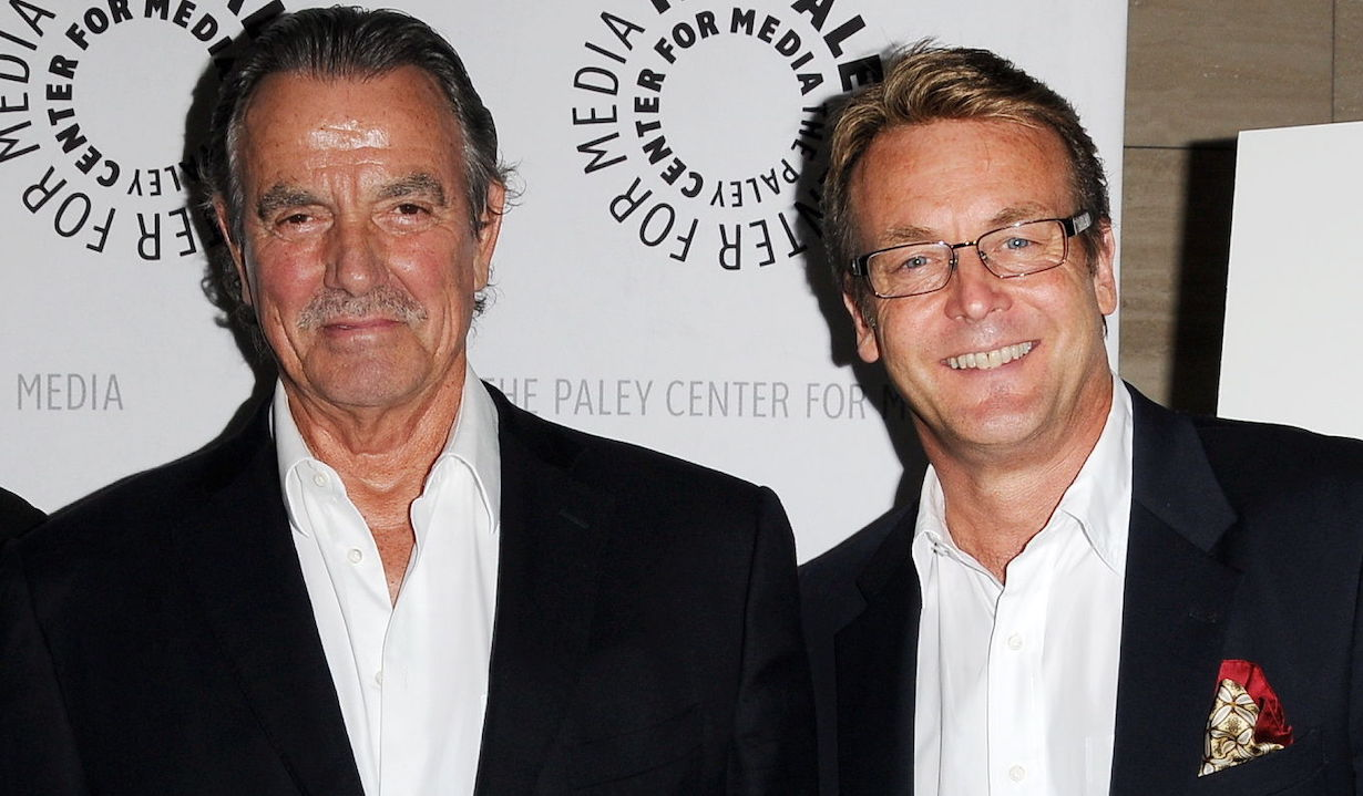 Eric Braeden, Doug Davidson young restless victor paul bromance