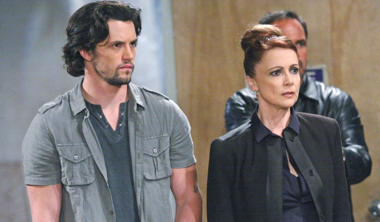 Nathan Parsons, Emma Samms General Hospital Ethan Holly