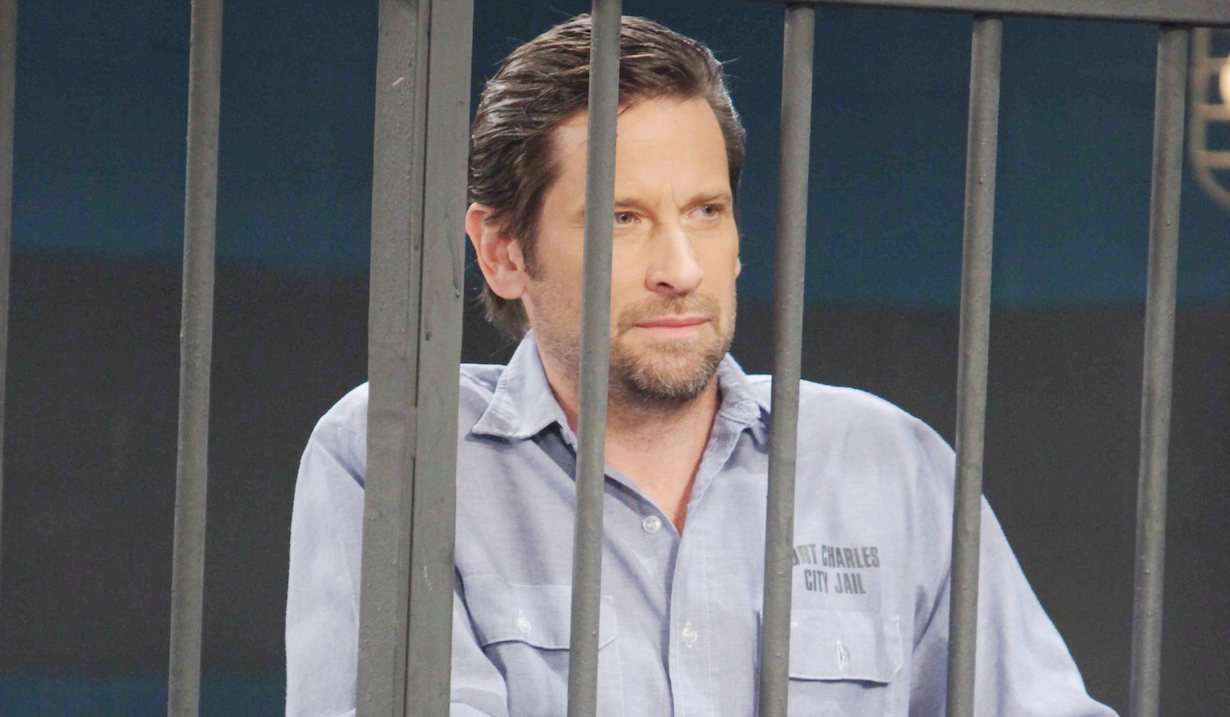 general hospital roger howarth as franco behind bars jail