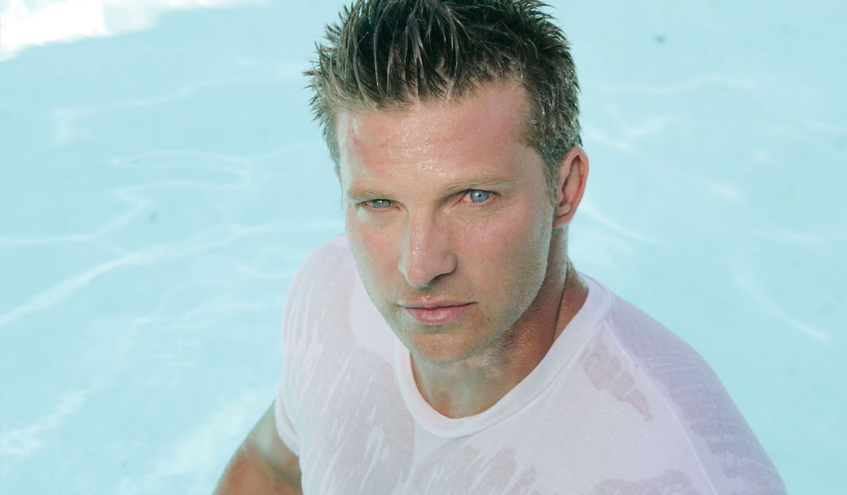 general hospital steve burton as jason wet t shirt