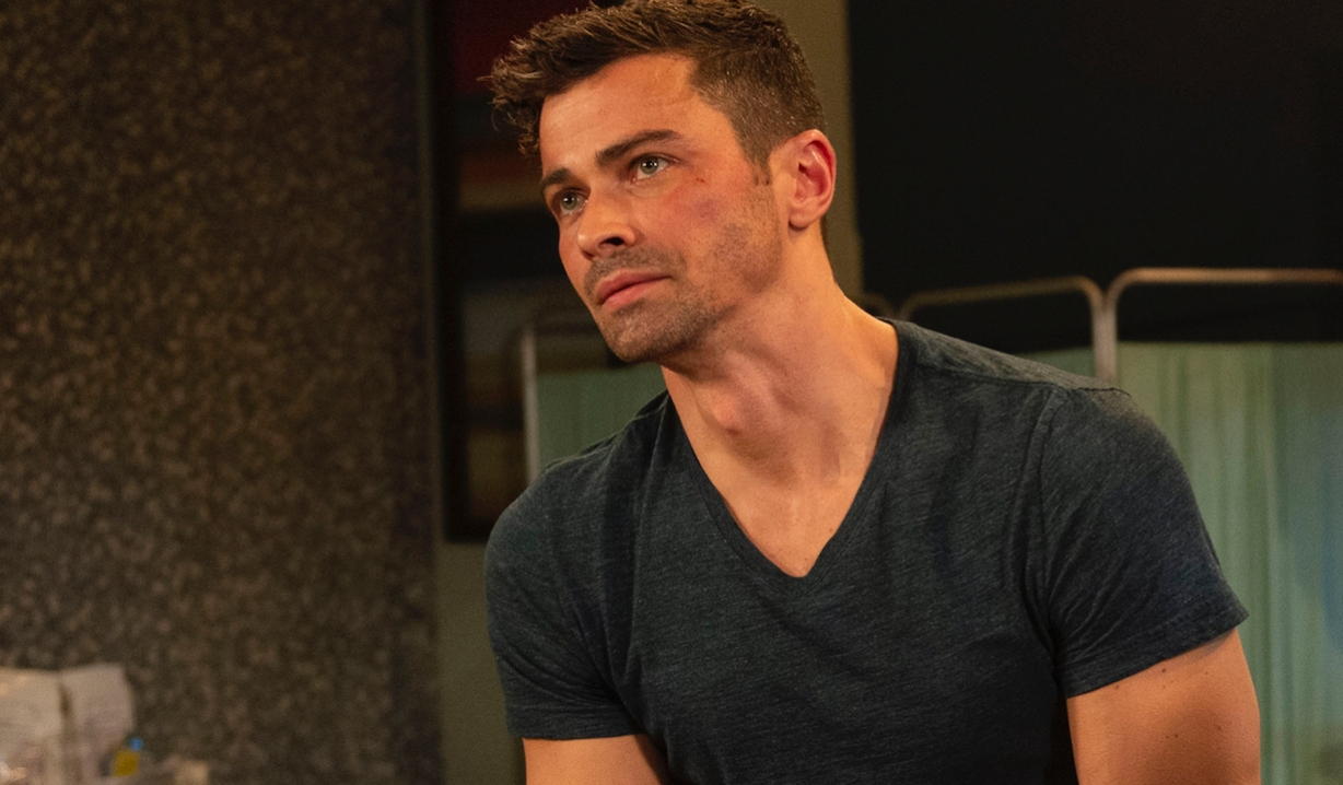 general hospital matt cohen griffin bruised face