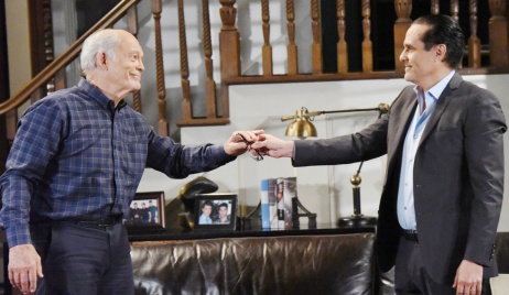 Maurice Benard, Max Gail general hospital mike sonny