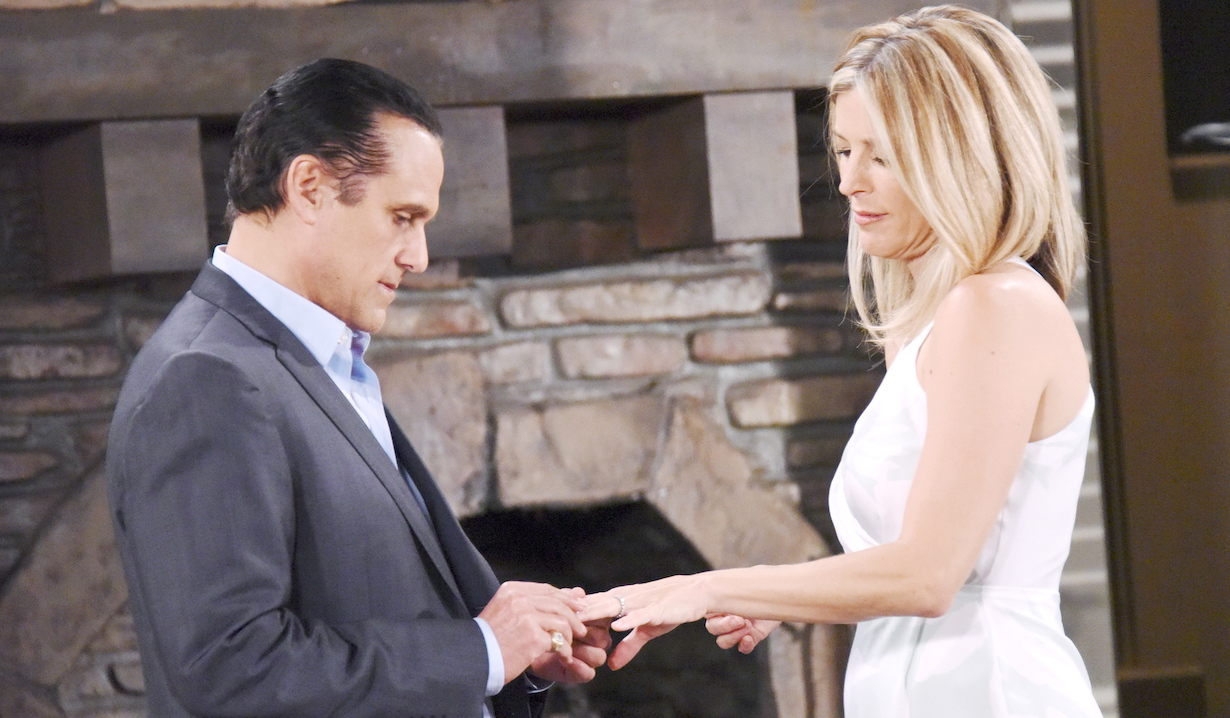 Maurice Benard, Laura Wright general hospital sonny carly wedding