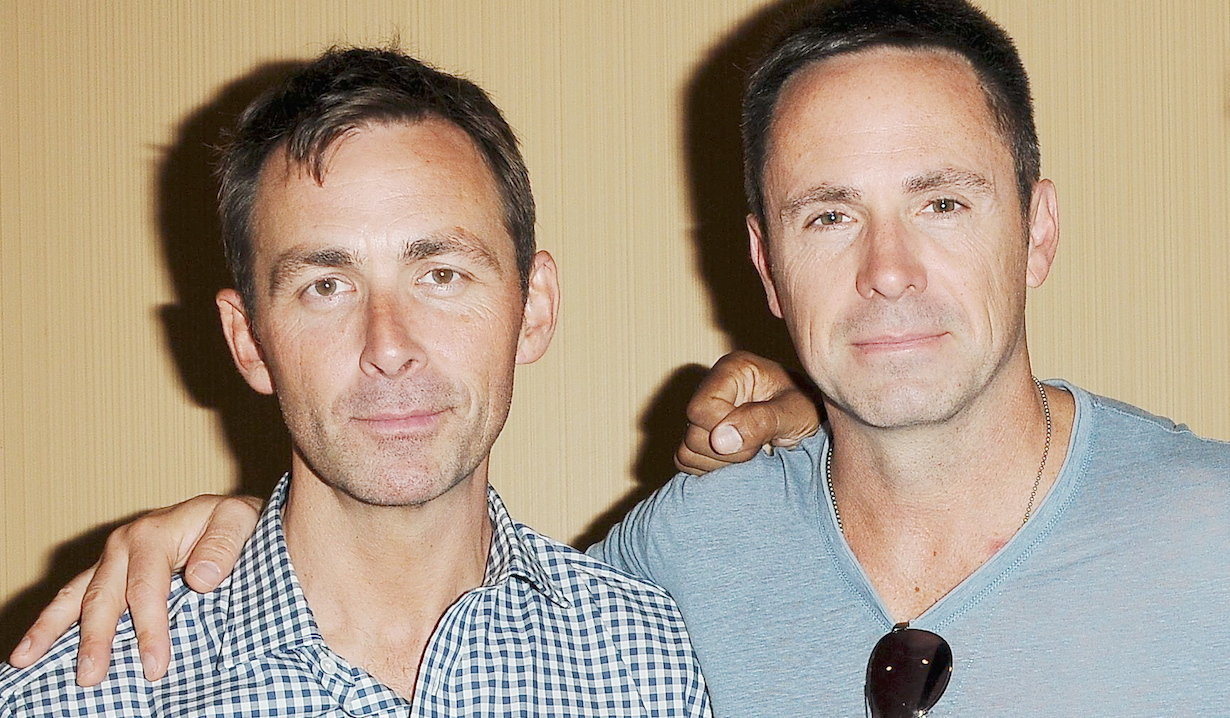 james patrick stuart william deVry general hospital bromance