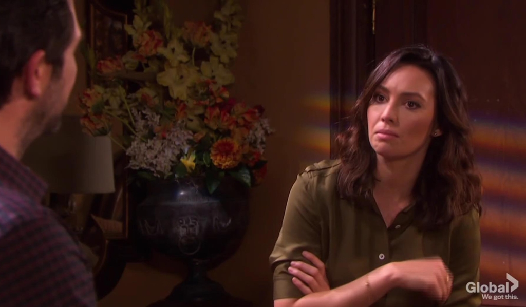 gwen sees jake drunk days of our lives
