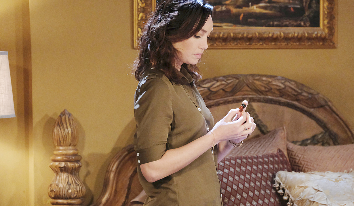 gwen on days of our lives has a mysterious background