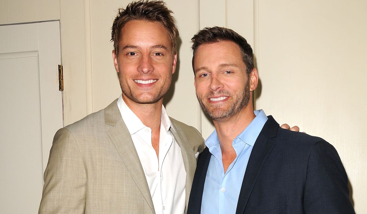 Justin Hartley, Eric Martsolf passions days of our lives bromance