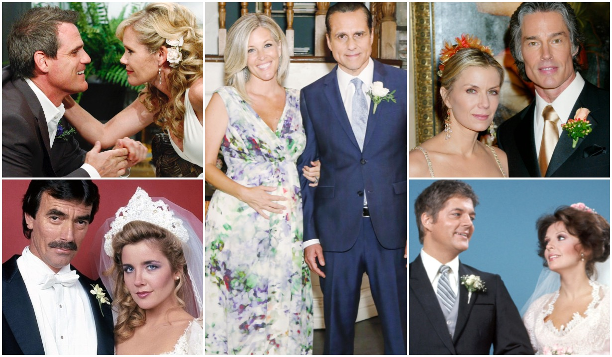 soaps' all-time most-married supercouple is…