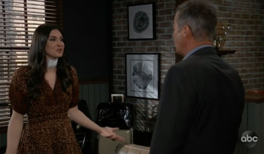 Ned and Brook Lynn argue on GH