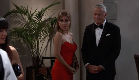 Olivia and Robert play spies on General Hospital