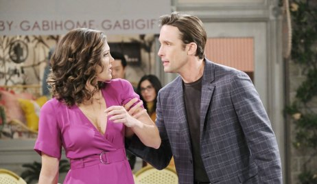 Philip Threatens Jan on Days of our Lives