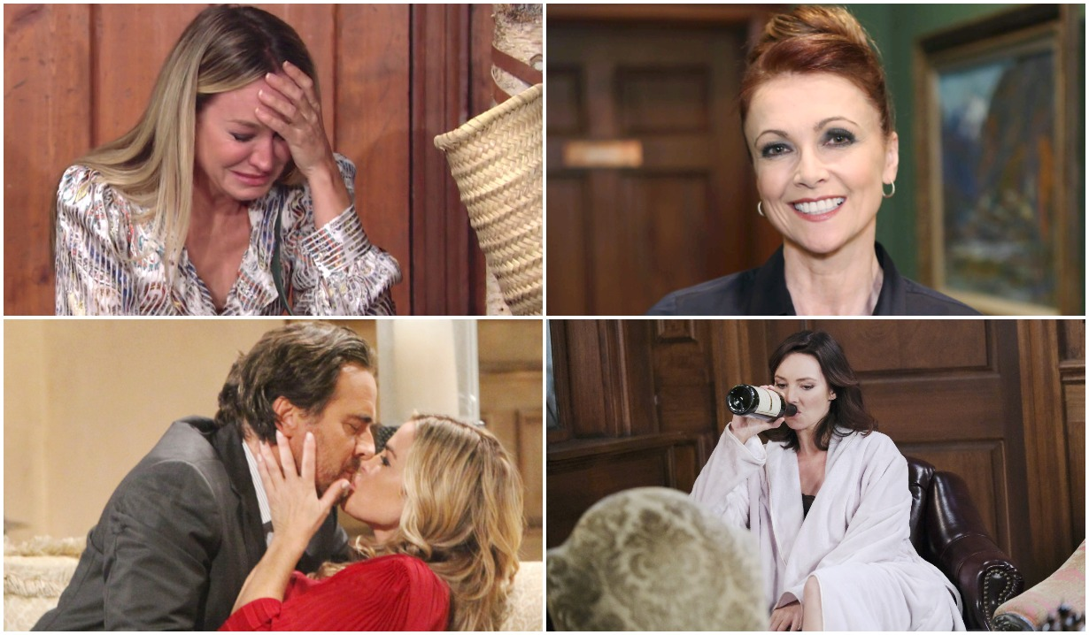 young restless sharon cries general hospital holly