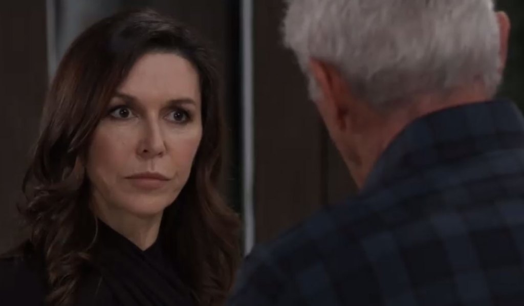 robert gives anna advice GH