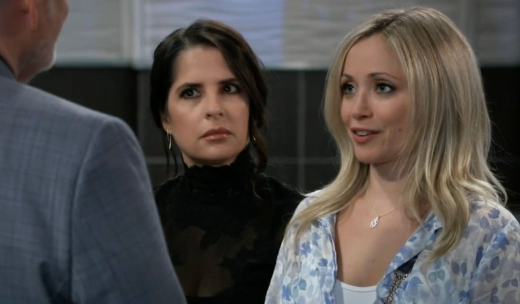 Sam and Lulu face off with Cyrus on GH