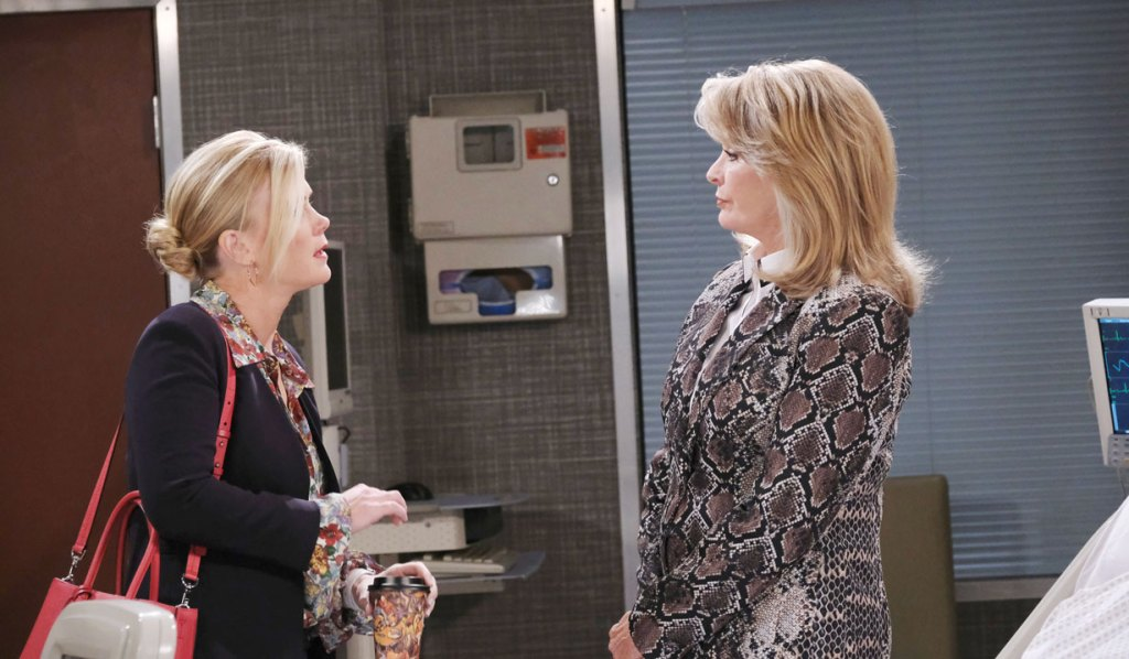 Marlena angry with Sami