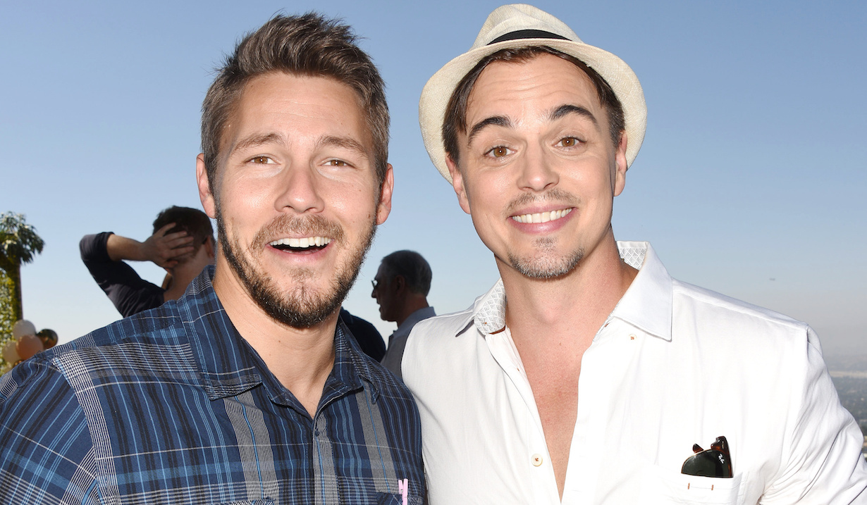 Scott Clifton, Darin Brooks bold beautiful liam wyatt