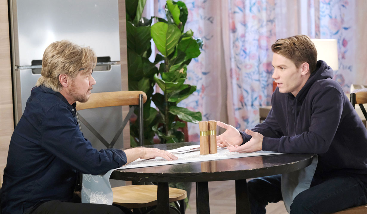 Steve is reunited with Tripp on Days of our Lives