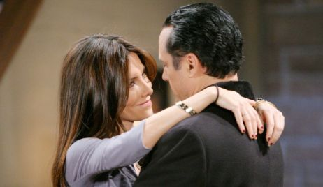 Brenda Barrett and Sonny Corinthos on General Hospital