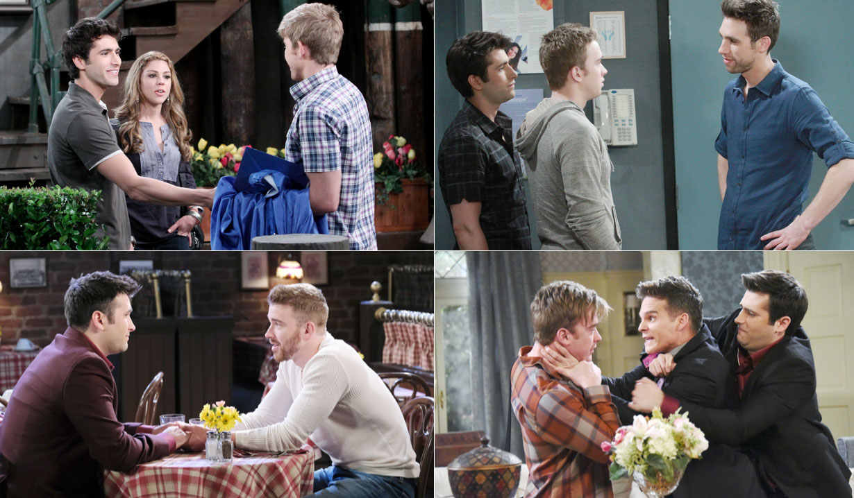 Sonny and Will's romance on Days of our Lives
