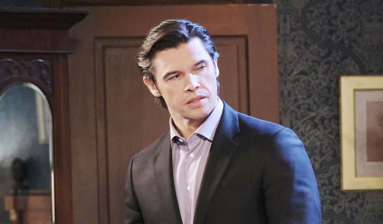 Xander always scheming on Days of Our Lives