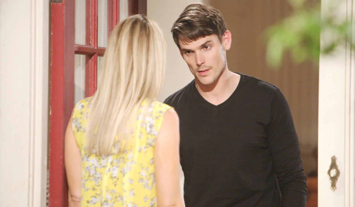 "Mark Grossman, Sharon Case ""The Young and the Restless"" hw"