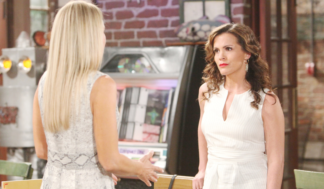 "Sharon Case, Melissa Claire Egan ""The Young and the Restless crimson lights hw"