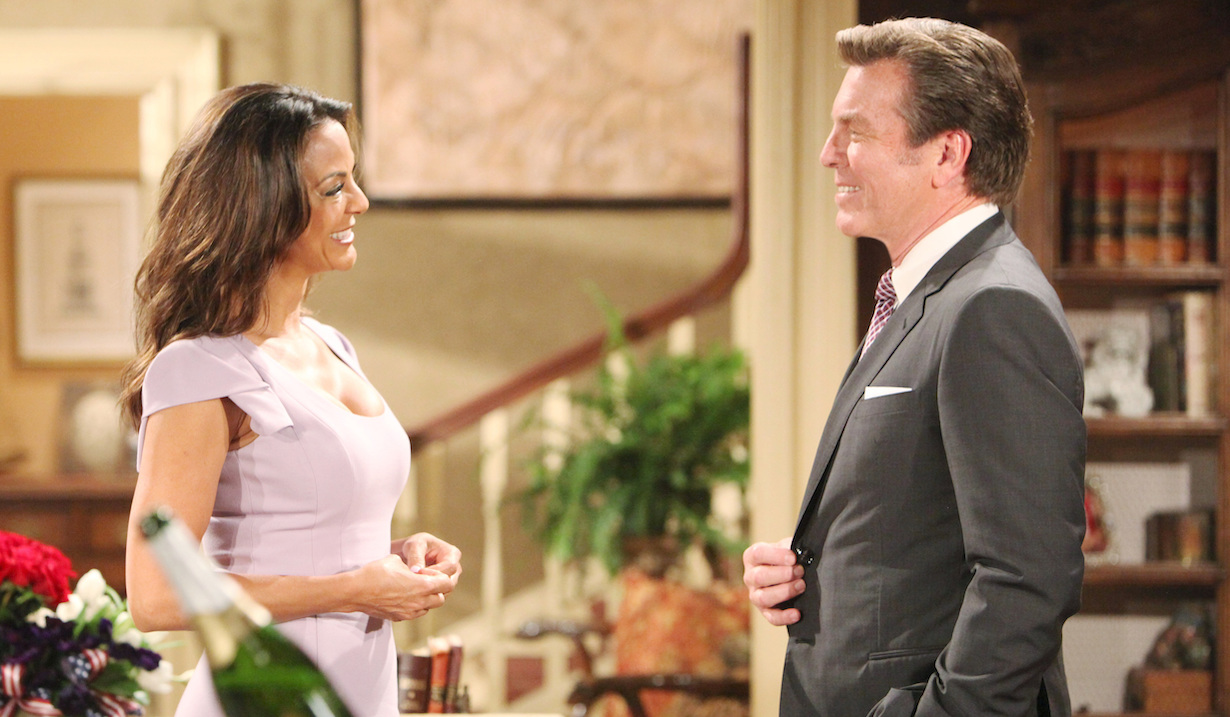 "Eva LaRue, Peter Bergman ""The Young and the Restless"" jack celeste hw"