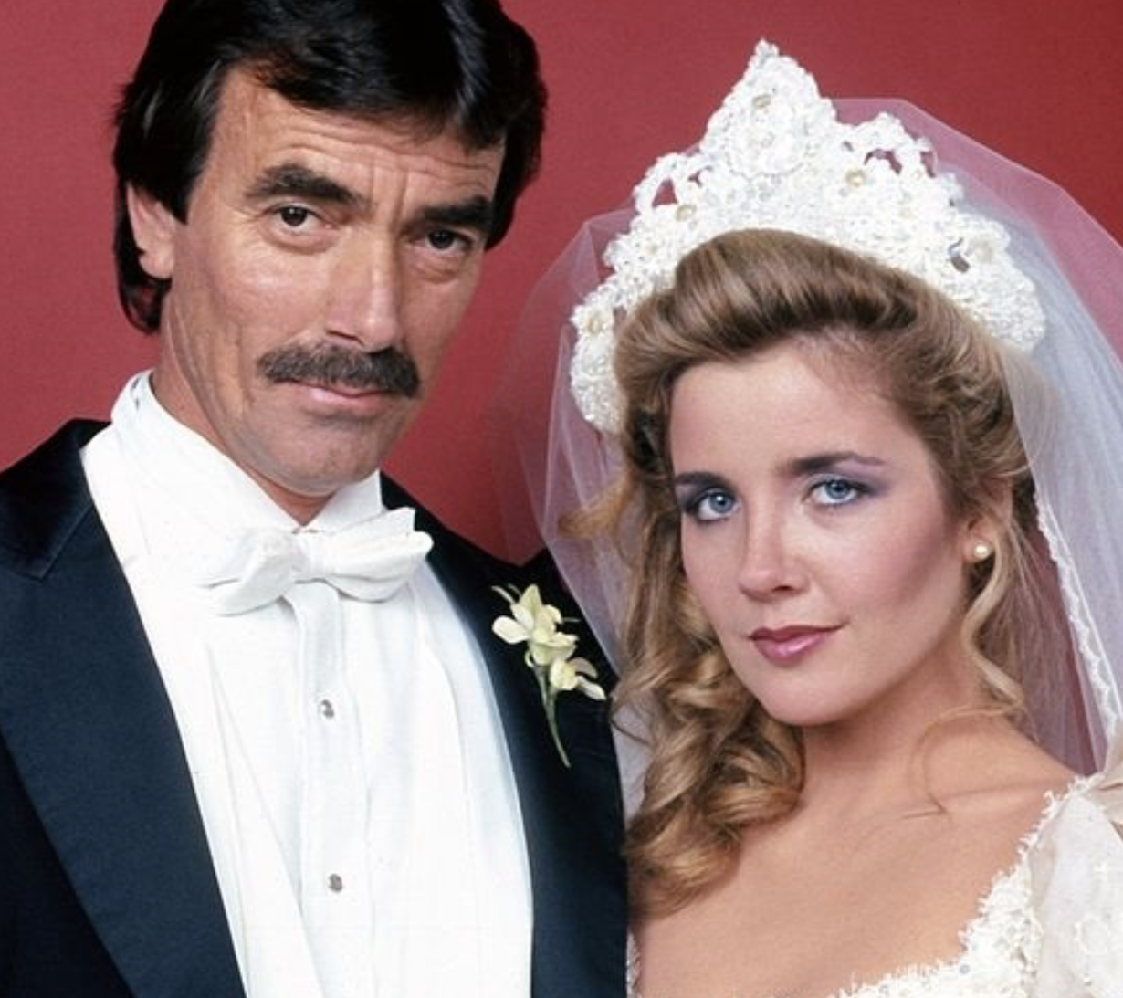 young and restless nikki and victor first wedding melody thomas scott eric braeden