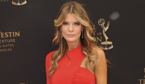 yr michelle stafford phyllis red dress emmys