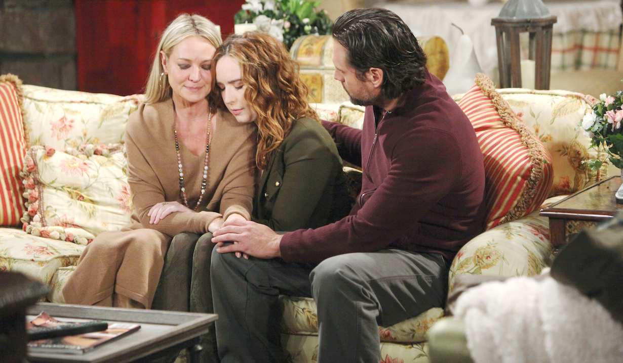 Sharon Case, Camryn Grimes, Joshua Morrow young restless mariah nick hw