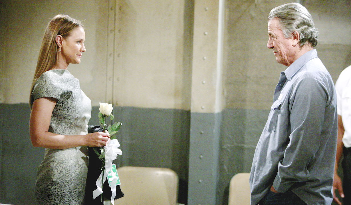 "yr victor prison wedding Sharon Case, Eric Braeden""The Young and the Restless"" Set CBS television CityLos Angeles12/07/11©sean smith/jpistudios.com310-657-9661Episode # 9821U.S. Airdate 01/13/12"