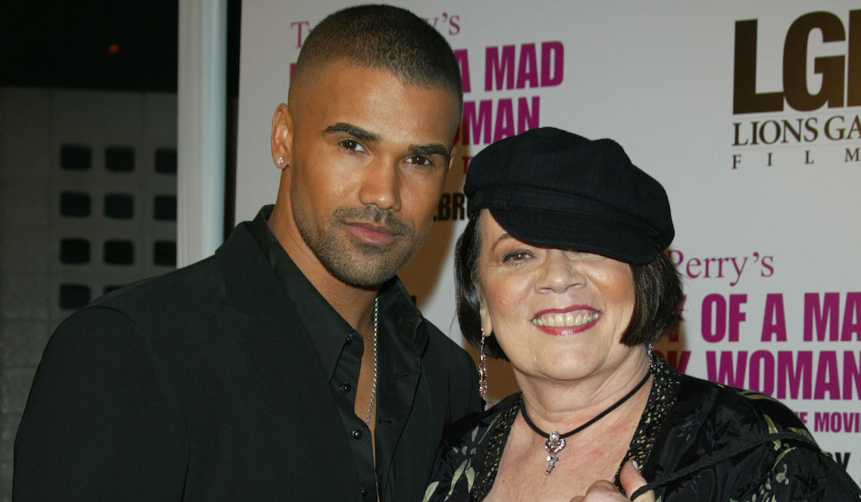 Shemar Moore, Mom Marilyn jj