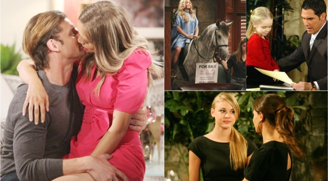 Abby Newman collage Y&R