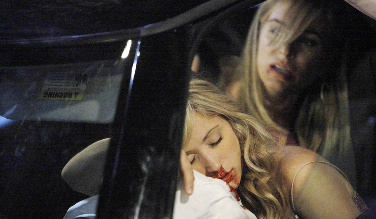 Abby Ashley car wreck Y&R