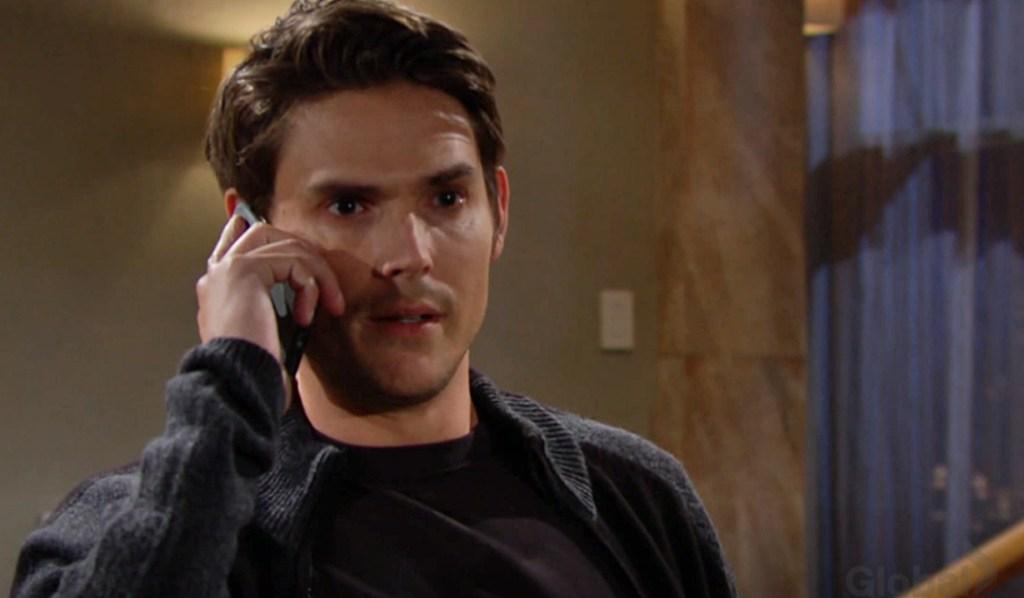 Adam call give signal Y&R
