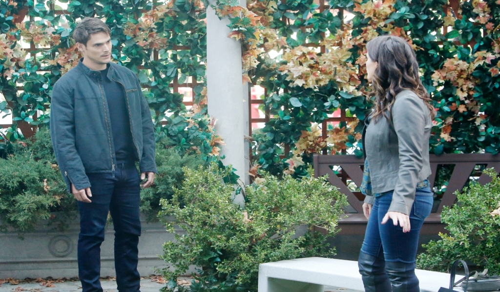 Adam pleads with Chelsea in Chancellor Park Young and the Restless