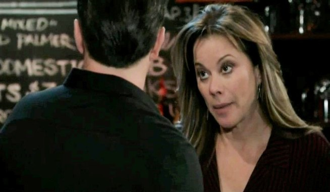 Alexis refuses Julian's help in Charlie's General Hospital