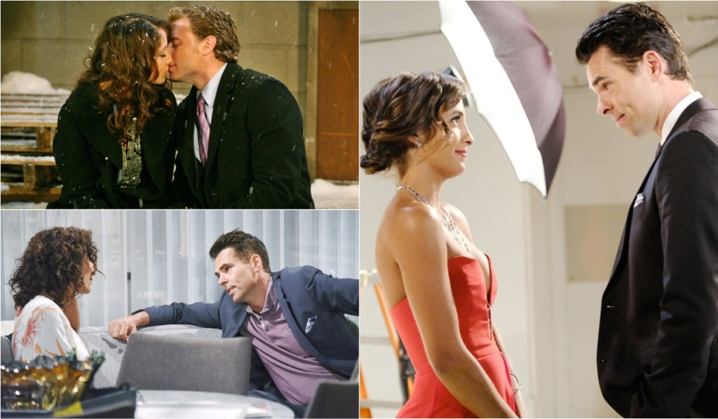 Billy, Lily history collage Y&R