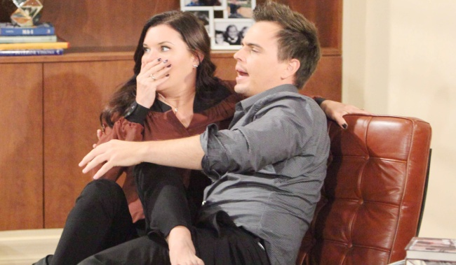 "Heather Tom, Darin Brooks""The Bold and the Beautiful"" SetCBS Television CityLos Angeles, Ca.09/05/17© Howard Wise/jpistudios.com310-657-9661Episode # 7685U.S.Airdate 10/03/17"