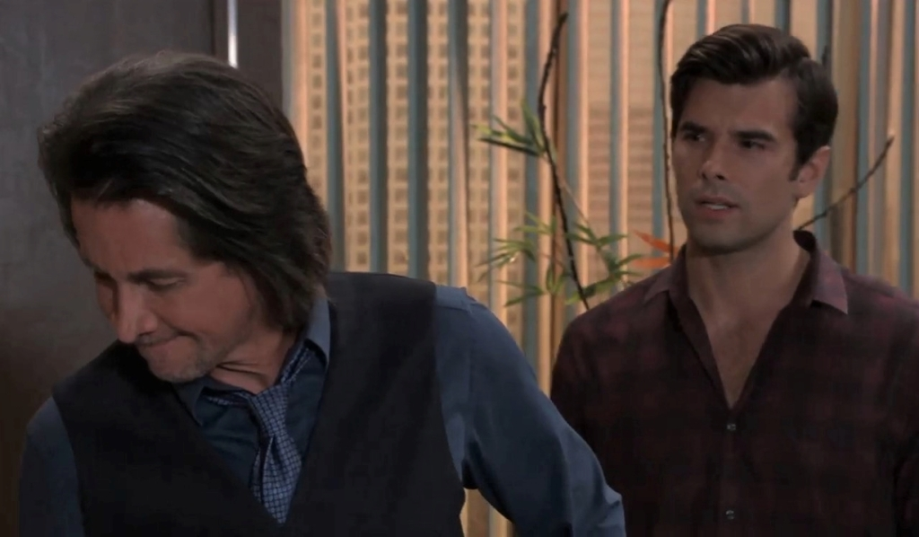 Chases asks Finn about the wedding at General Hospital