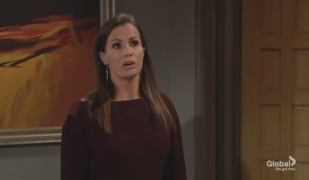 Chelsea leaves Adam at penthouse Young and the Restless