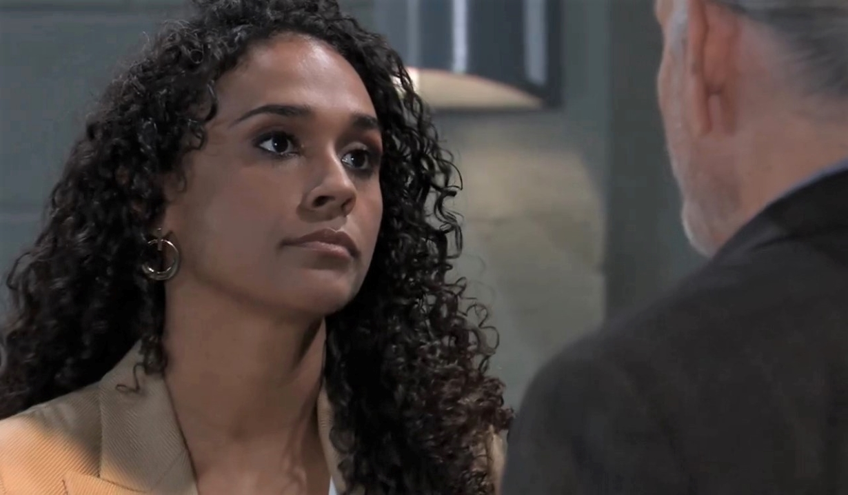 Cyrus asks Jordan for something General Hospital